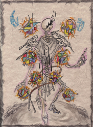 Traditional: Gaster, initial - 'Drops of Silence' by LucrataNexarii