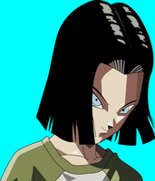 Androide 17 Dragon  Ball Super by Juanxoc