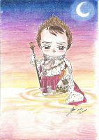 Chibi emperor by Stael
