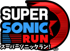 Super Sonic Run Logo by NuryRush
