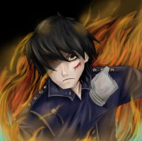 Roy Mustang by DawnGyocry