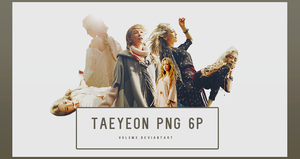 TaeYeon I 6P PNG by vul3m3
