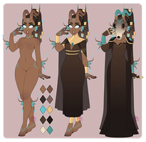 Dextro Guest Adopt Set #4 (CLOSED) by LunaOfWater