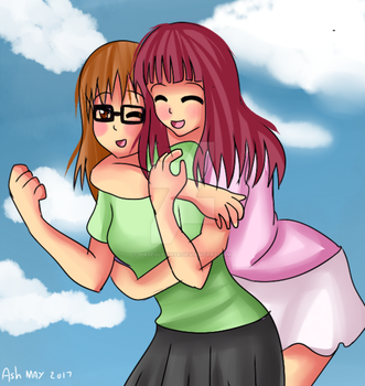 Sisters by HaseoLeomyr