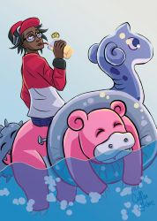 Slowbro Used Surf by CullenG-LSS