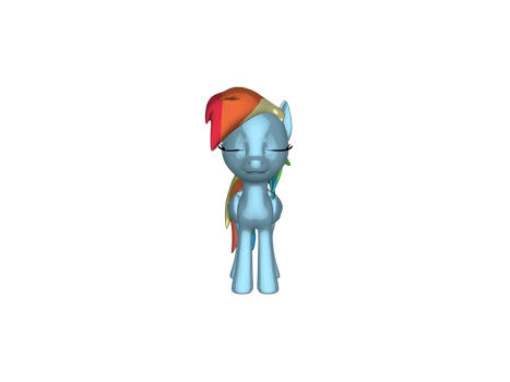 Rainbow Dash closes her eyes by jimmyhook19202122