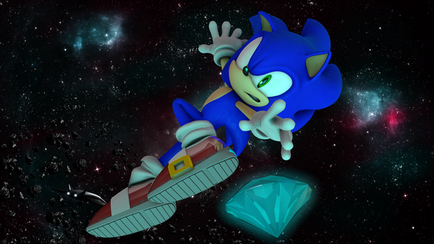 sonic in space by gabrielgt12