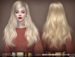 [MMD] Coco Hair N21A (+DL) by AppleWaterSugar
