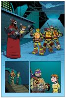 TMNT Animated #1 Page 2 by angieness