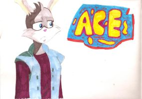 Ace Bunny by MercerMZ