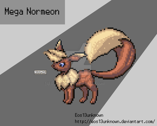 Mega Normeon  by Eos13unknown