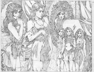 'Daughters', page 13, unpublished project for SGP by gabrielanibalrearte