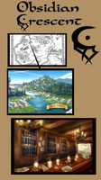 Fairy Tail Fan-based Guild: Obsidian Crescent by Kalina1176