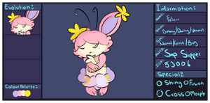 Felicie Pkmnation Reference Sheet by Smooshiecakes
