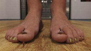 A Caring Mother | Giantess Feet by GTSX3D