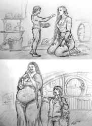 Living in a Hobbit Paradise: pt. 1 and 2 by Ray-Norr