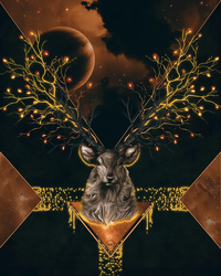 Stag by Maniakuk