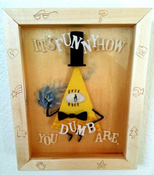 Bill Cipher by ContemporaryCaveman