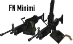 FN Minimi - Rigged (Update) by ProgammerNetwork