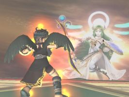 Palutena, I need your help. by ChibiStarLyte