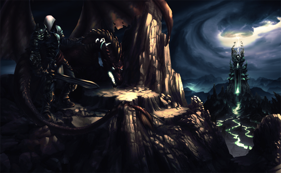 The Morgul Vale by jacobheeg