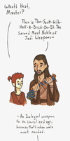 Master of Improvised Weaponry by Allison-beriyani