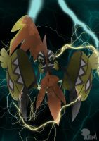 Tapu Koko - Thunder Guardian by LightDragon87