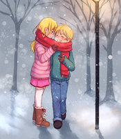 cold hands, warm hearts by MerryMarmalade