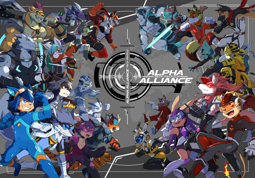 Alpha Alliance [Pre-Order] by seiryuuden