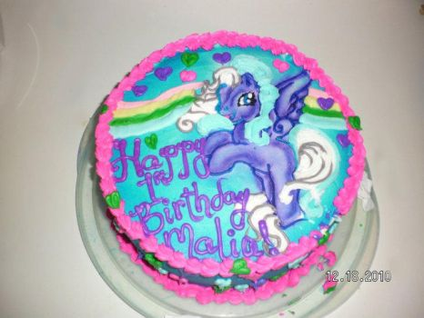 my little pony cake by angelazilla