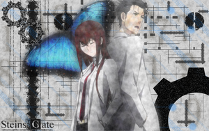 Steins Gate Wallpaper 1 by kaledine