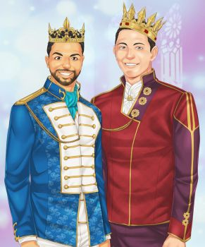Two Kings by LinART