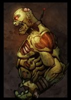 Zombie in color by Kid-Destructo