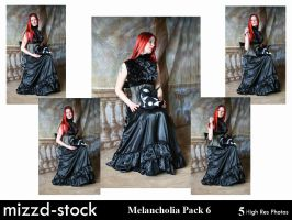 Melancholia Pack 6 by mizzd-stock