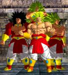 Broly The Legendary Super Saiyan. by WOLFBLADE111