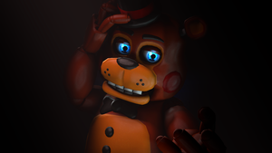 Take my hand and I'll protect you-Toy Freddy by TalonDang