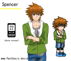spencer character sheet by Pacthesis