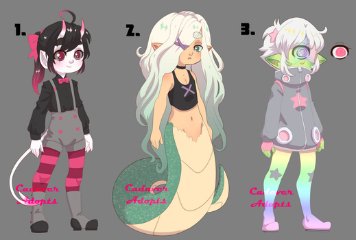 Monster Boy Adopts|AUCTION|CLOSED by CadaverAdopts
