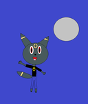 Darksyde The Umbreon by mewmewspike
