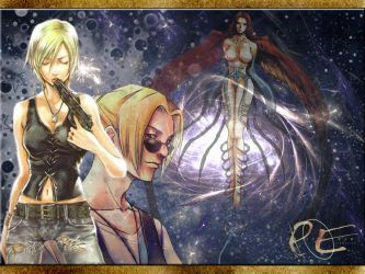Re : Parasite Eve wallpaper by lzanami