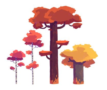 Trees by NathanDupouy