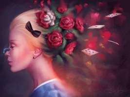 Alice in Wonderland by SandraWinther