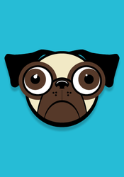 Puggle Head by theStickiest