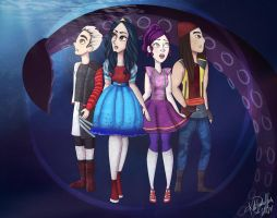 Descendants 2 Teaser Fanart by katidoodlesmuch