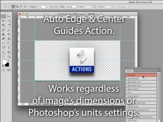 Photoshop Action (Basic Guides) by jasonh1234