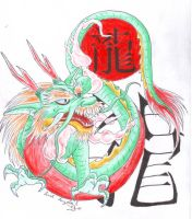 Chinese Horoscope Dragon by LARvonCL