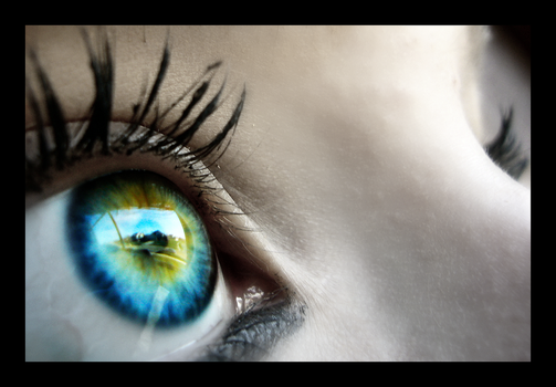 Reflective Eye by opticalsonnet