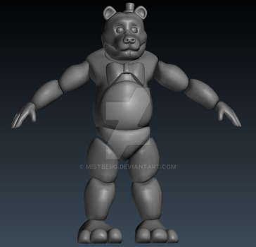 phantom freddy commission wip by Mistberg