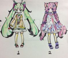 Forest girls adoptables CLOSED by Diana-AS