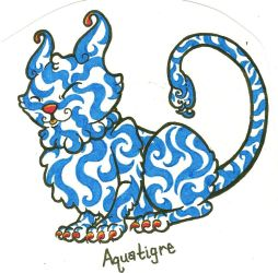 Aquatigre Fakemon by SommaDAT